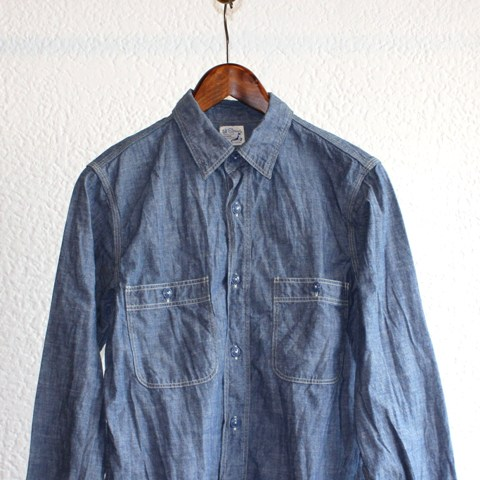【orslow】 MENS'S CHAMBRAY SHIRTS