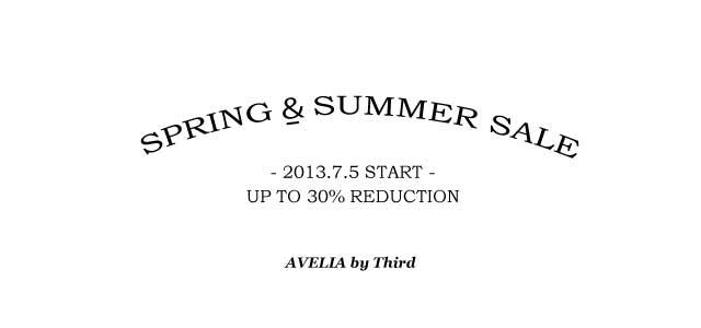 SUMMER SALE START!!